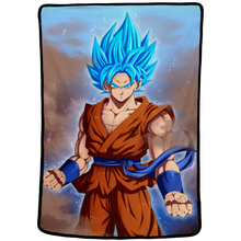 EHOMEBUY 3D Blanket Anime Dragon Ball Goku Print Flannel Hotel Home Sofa Decoration Spring Autumn Soft Warm Cover 3 Size