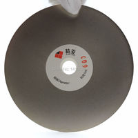 5 Inch 125mm Grit 600 Fine Electroplated Diamond Coated Flat Lap Disk Grinding Polishing Wheel Lapidary