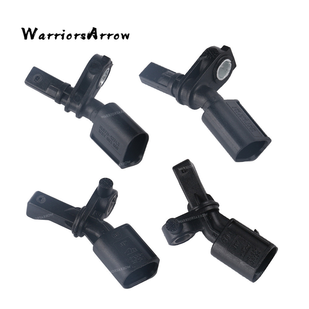 4Pcs Front Rear L+<font><b>R</b></font> ABS Wheel Speed Sensor For Volkswagen Polo <font><b>Golf</b></font> For Audi A3 WHT003860 WHT003861 WHT003862 WHT003863 image