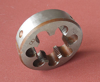 1pcs HSS Right Hand Die 1 1/2-18 Dies Threading 1 1/2-18 1pcs hss right hand die 1 15 16 8 dies threading 1 15 16 8
