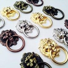 Knob Decorative Dresser Pull-Handle Drawer Cabinet Furniture-Door O-Ring Metal 5-Length
