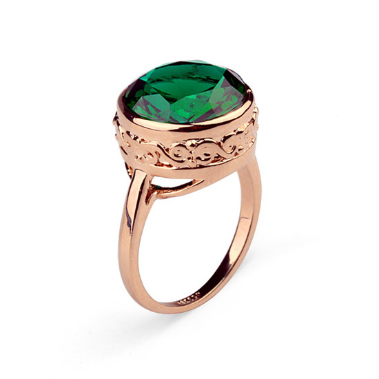 Hot Sale Chran Fashion Costume Jewelry Finger Rings Promotion Color