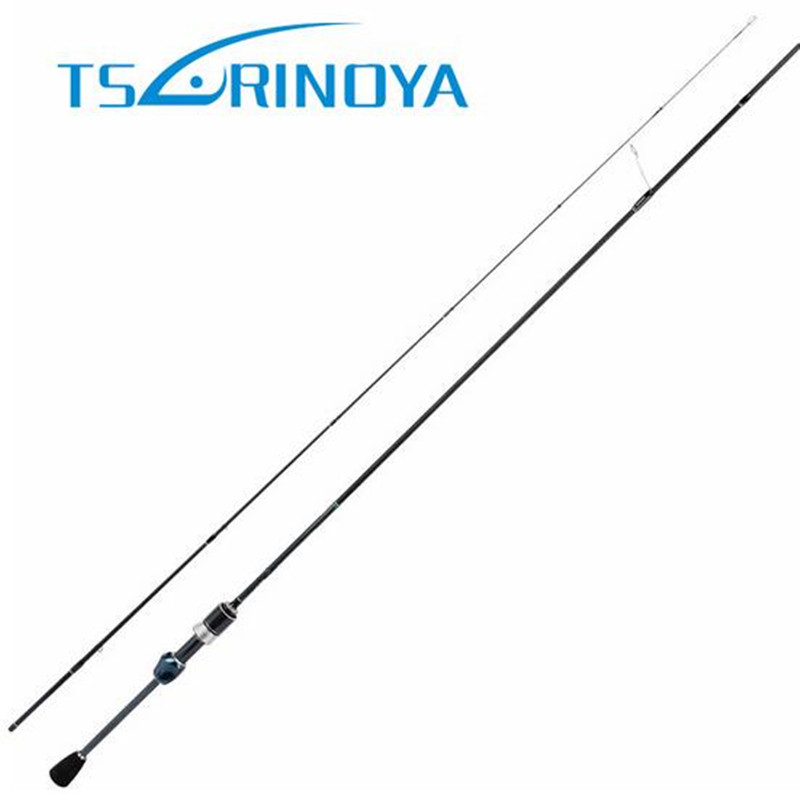 Tsurinoya 2.1m UL 2 Sections Fast Spinning Fishing Rod 1-5g Lure Carbon Fiber Bass Fishing Rods Canne A Peche Fishing Tackle tsurinoya 1 89m ul carbon casting rod 0 6 8g lure weight ultralight spinning fishing rods 2 sections lure fishing rods baitcast