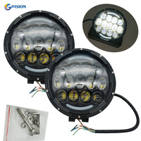 105W 7 inch Round Off Road Driving LED Work light 9 36V Car led work lamp for Jeep Trucks Offroad 4x4 SUV ATV Hunters