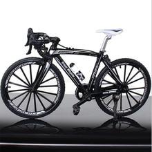 1:10 масштаб металлический дорожный велосипед Модель игрушки изогнутый гоночный цикл крест горный велосипед Реплика коллекция литья под давлением для детского подарка