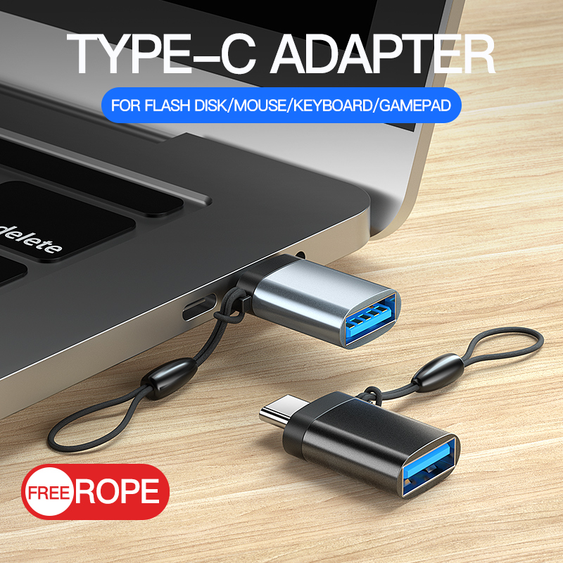 Msvii USB 3.0 Type C OTG Adapter Converter For Redmi Note 7 Mix 3 OnePlus 6T 6 Huawei V20 Mate 20 P20 Pro USB-C Connector