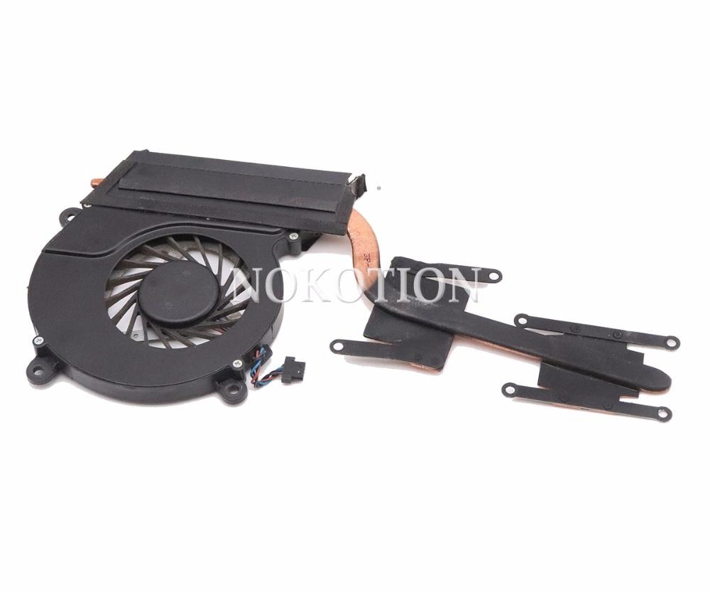 NOKOTION 13N0 76A0A02 For acer Aspire M3 581T M3 581 laptop cooling fan heatsink CPU GPU Cooling Radiator