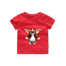 0f29d3f6a7f 2 T-12 T Gremlins Gizmo Reino Unido divertido niño camiseta bebé niños  verano lindo