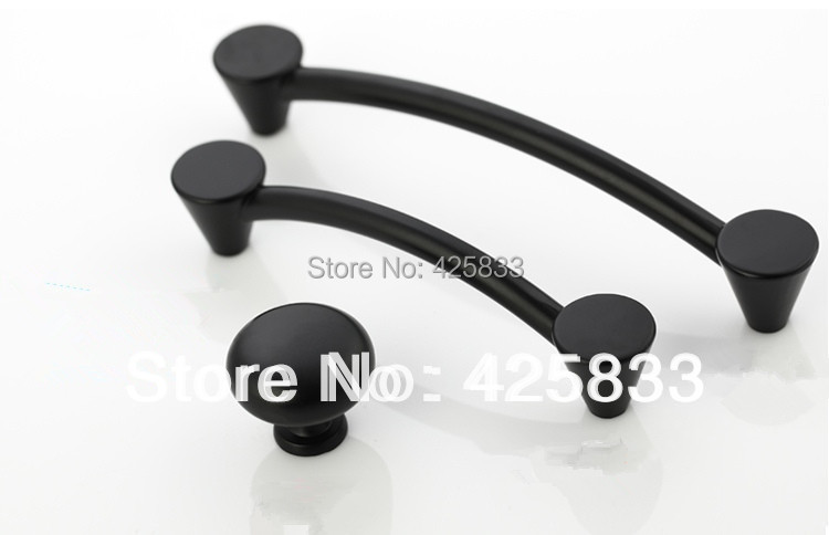 8pcs 96mm matte black kitchen pulls classical thick handles top quality drawer knobs aesthetics cupboard closet. beautiful ideas. Home Design Ideas