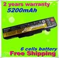 Jigu novas baterias do portátil para lenovo ideapad y480 g480 v480 z380 z480 g580 g585 y485 y580 g490 g500 g505 baterias