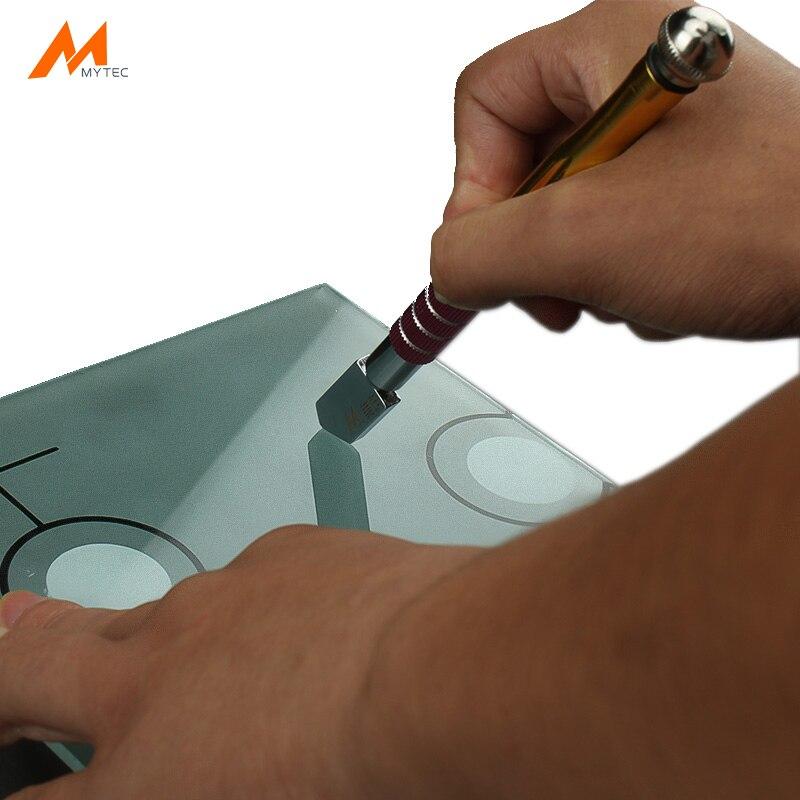 Professionelle rädern glas cutter für form sicherheit glas schneiden werkzeuge Aluminium tod legierung rad
