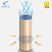 Car Air Purifier 5V Negative Ions Air Cleaner Ionizer Humidifier Air Purifier Auto Mist Maker PM 2.5 Eliminator For Business gif