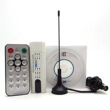 Satélite Digital USB DVB-T2 T DVB-C + FM + DAB + SDR Digital HDTV receptor sintonizador con antena remoto