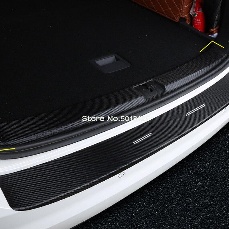 Для дома и улицы задняя дверь багажника Накладка порога бампер накладка покрышка аксессуары для Honda Civic 10th 2017 2018 2019