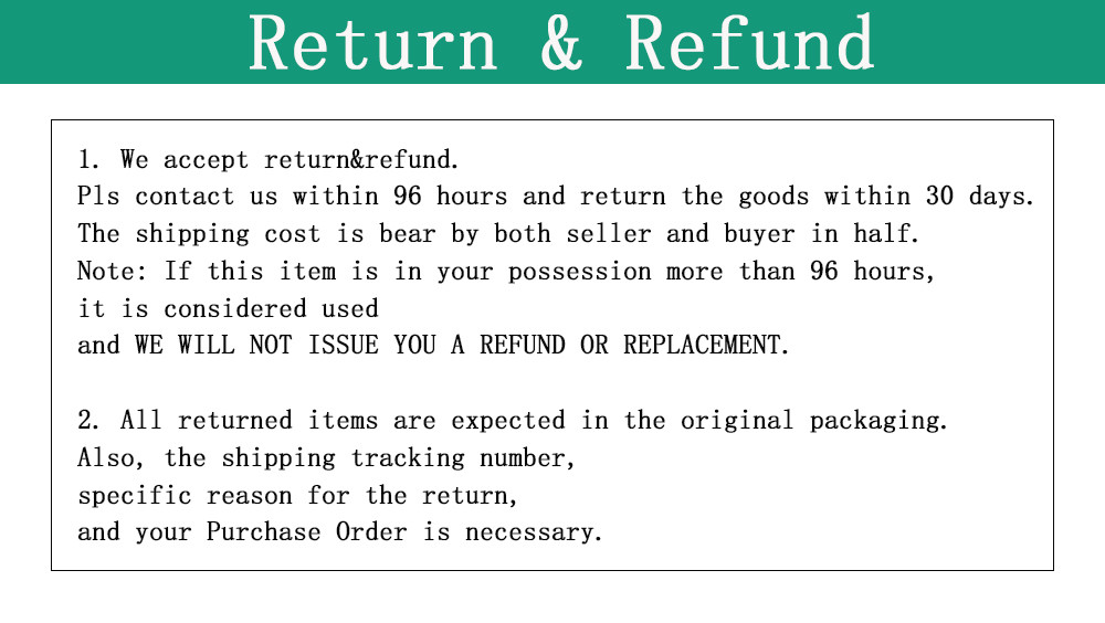 return refund