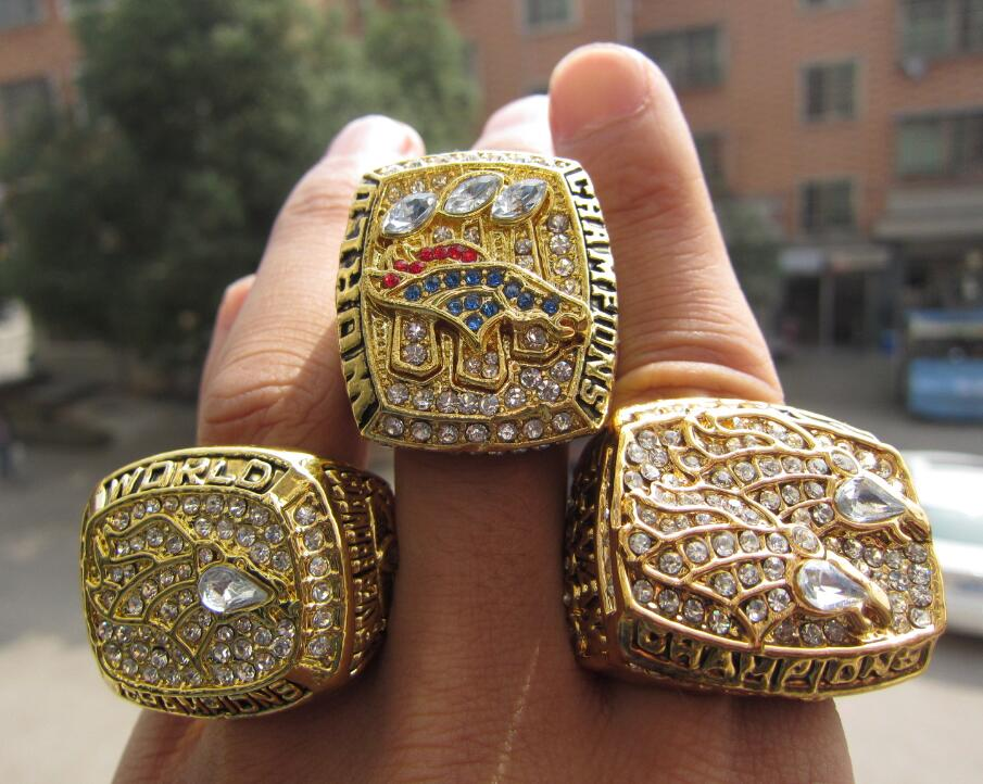 2016 Denver Broncos World Champions Rings