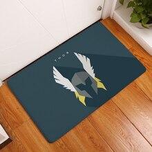 Nueva antideslizante alfombras de dibujos animados personalidad super hero impresión 40x60or50x80cm alfombras de baño alfombras de piso de la cocina