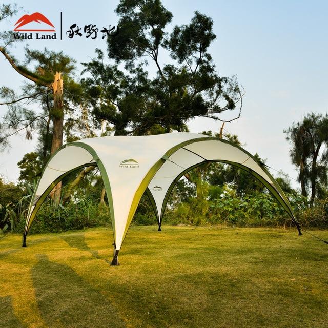 gartenzelt wildland dome pavillon groae familie zelt sonnendach wasserdichte markise oversize outdoor camping baldachin garten kaufen schweiz