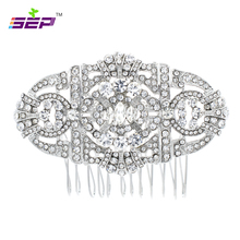 hot deal buy vintage style hair combs crystals rhinestone hairpins bridal wedding hair jewelry accessories women pageant headpiece 5771