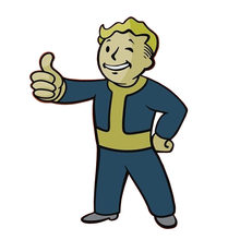Fallout 4 Vault Boy Pin(China)