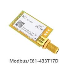 433 МГц TCXO Modbus длинный диапазон ebyte E61-433T17D беспроводной приемопередатчик rf UART модуль приемник данных rf модуль