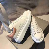 2018 New Women's Leather Personality Women Patent Leather Shoes Designer Luxury Brand Authentic High Quality 35 40