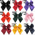 9 Colors 2017 New Women Bow Ties Fashion Butterfly Fashion Uniform Dress Red Black Female Neck tie Wedding Lady Ascot Bow Tie
