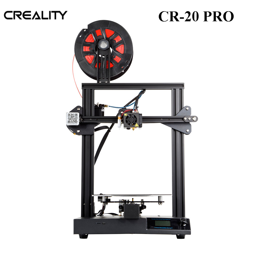 CREALITY 3D CR-20 PRO mise à niveau Vision imprimante Kit 24 V soutien reprendre l'impression BL Touch Auto lit nivellement chauffage rapide