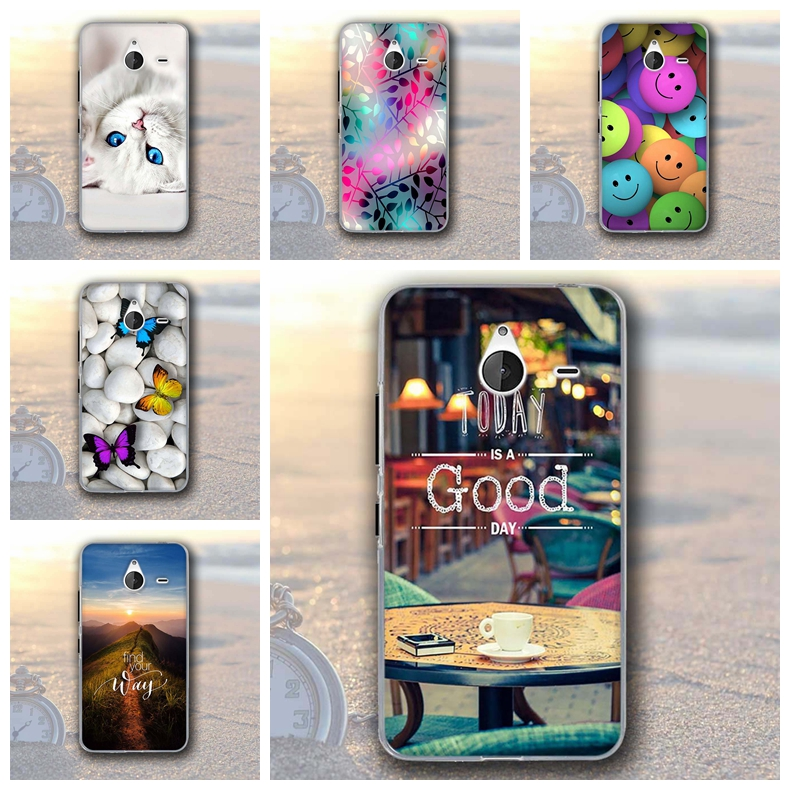 for Nokia Microsoft Lumia 640XL 5.7inch Case Soft TPU Protector Silicon Back Cover case for Nokia lumia 640xl Coque Case Funda image