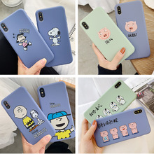 Creative cartoon language phone case for iPhone X XS XR XSMax 8 7 6 6S PluS TPU soft silicone drop protection cover
