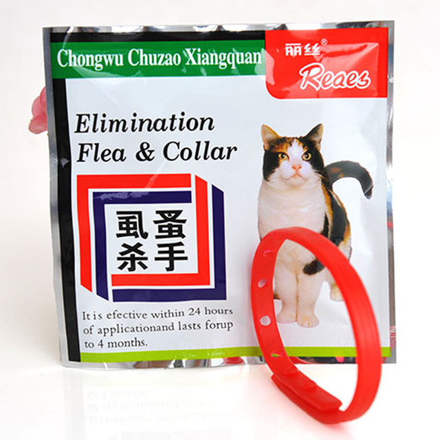 30cm Pet Safety Collar Cat Anti Flea Tick Mosquito Elimination Plastic Adjustable 4 Month Effective Remedy Neck Free Shipping