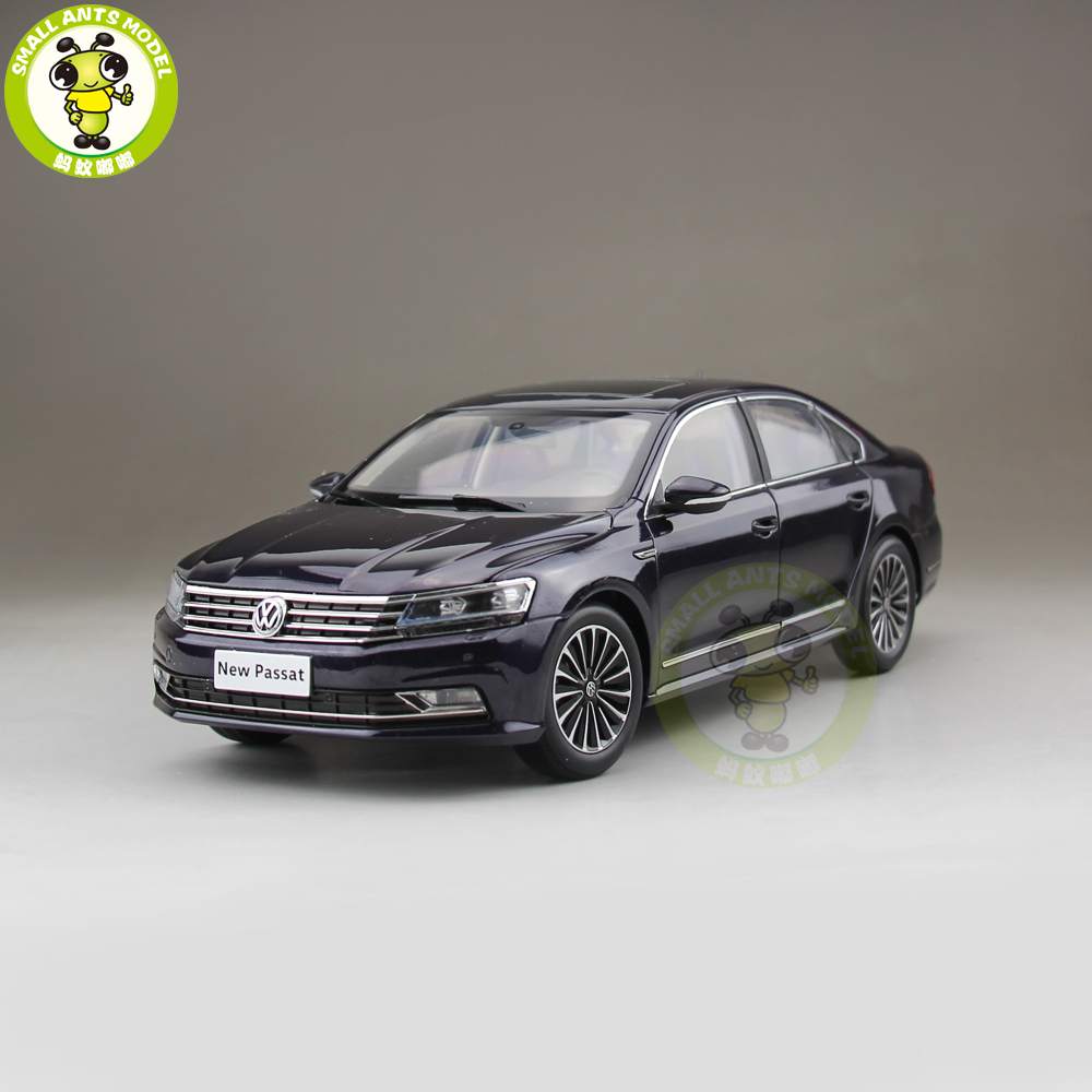 1/18 Passat Diecast Car Model Toys Girl Boy Birthday Gift Collection Hobby Purple Color