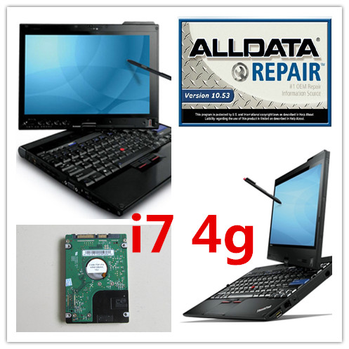 alldata auto repair software all data 10.53 and mitchell on demand price best with 1tb hdd installed in x201t laptop ( i7 4g)