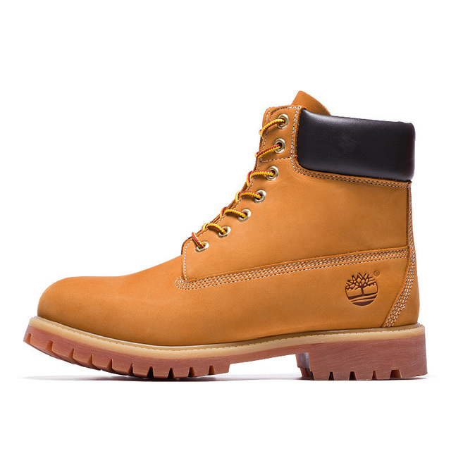 US $144.5 15% OFF|TIMBERLAND Classic Men 6 Inch Premium Waterproof Boots For Male Nubuck Genuine Leather Ankle Wheat Yellow Shoes 10061|Basic Boots| |
