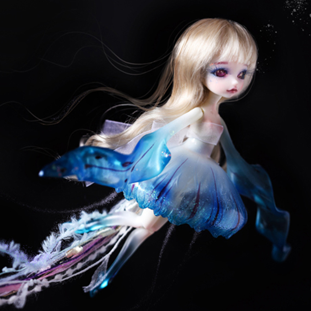 Dollzone Lumu 1/8 BJD Dolls Fantastic Mermaid High Quality Toys For Children Oueneifs DZ DC Dream Valley