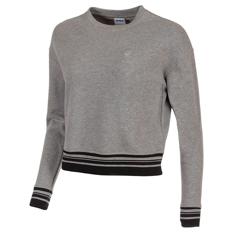 Female Sweatshirt REEBOK AJ4093 sports and entertainment for women sport clothes