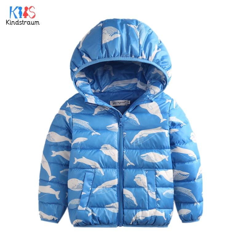Kindstraum 2017 New Kids Winter Down Coat Character Fish Printed For Boys Girls Children Warm Casual Jacket Hooded Outwear,MC859 deuter giga blackberry dresscode