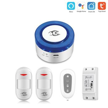 tuya alarm security system Smart home IOS Android APP Control Wireless Alarm System