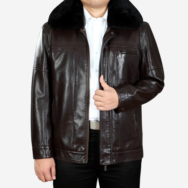 The New Winter 2016 font b Men s b font font b Leather b font Jackets