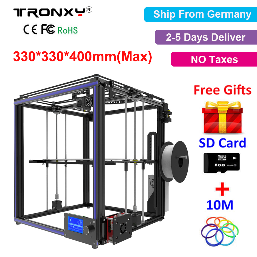 3D Printer kit High Quality Precision impresora 3d Aluminium Profile Large Printing Size 330*330*400mm DIY Precision 3D Printer high quality 3d printer consumable items