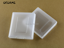 OCGAME 30pcs/lot Game Cartridge Case game case For GameBoy Color Pocket GB GBC GBP Plastic