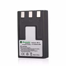Powerextra NB-1LH NB-1L 1500mAh 3.7v Battery For Canon PowerShot S100 S230 S300 S330 S400 S410 S500 Camera Batteries Free Ship