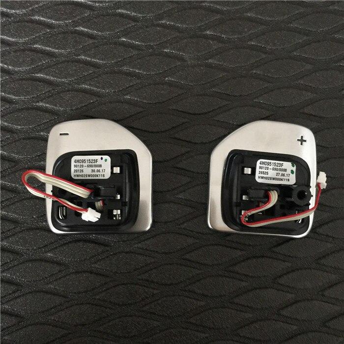 For Audi A1 A3 A4 A5 A6 A7 A8 Q3 Q5 Q7 Tiptronic black high gloss