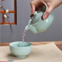 Ceramics Tea Set Include 1 Pot Cup High Quality Elegant Gaiwan Beautiful And Easy Teapot Kettle Chinese Kung Fu Teaset