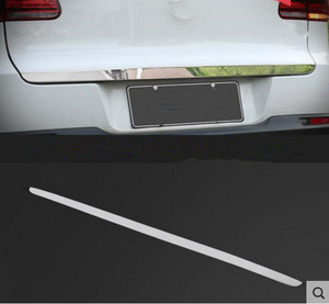 Stainless Steel Rear Trunk Lid Cover Trim Tail Gate Protector Back Trunk Cover Fit For VW Tiguan MK1 2010-2015