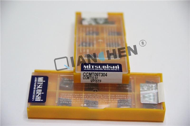 Mitsubishi 10pcs/lot CCMT09T304 08 VP15TF CNC inserts,Face Mill Lathe Tools cutter CNC tool пилочка для ногтей leslie store 10 4sides 10pcs lot