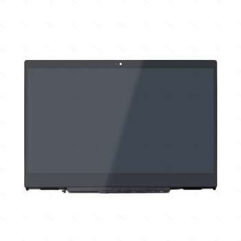 LCD Display Touch Glass Digitizer Screen Assembly +Frame for HP x360 14-cd0076tu 14-cd0077tu 14-cd0078tu 14-cd0080tu 14-cd0081tu