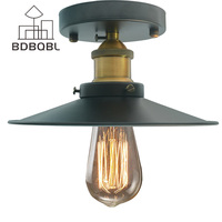 BDBQBL Vintage Ceiling Lights Lamparas De Techo Lustre Luminaria Abajur Ceiling Lamp Home Lighting Avize Luminaire