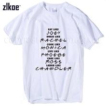 2017 t shirt men Funny Friends series T-Shirt Joey Rachel Monica Ross Chandler Men Women gift 3d t shirt plus size mens M — xxxl