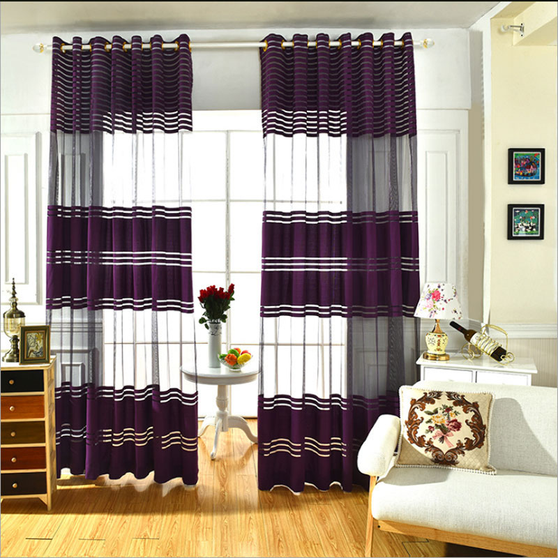 Red Window Curtain Panels Sale: Tulle Curtains For Living Room Kitchen Curtains Room